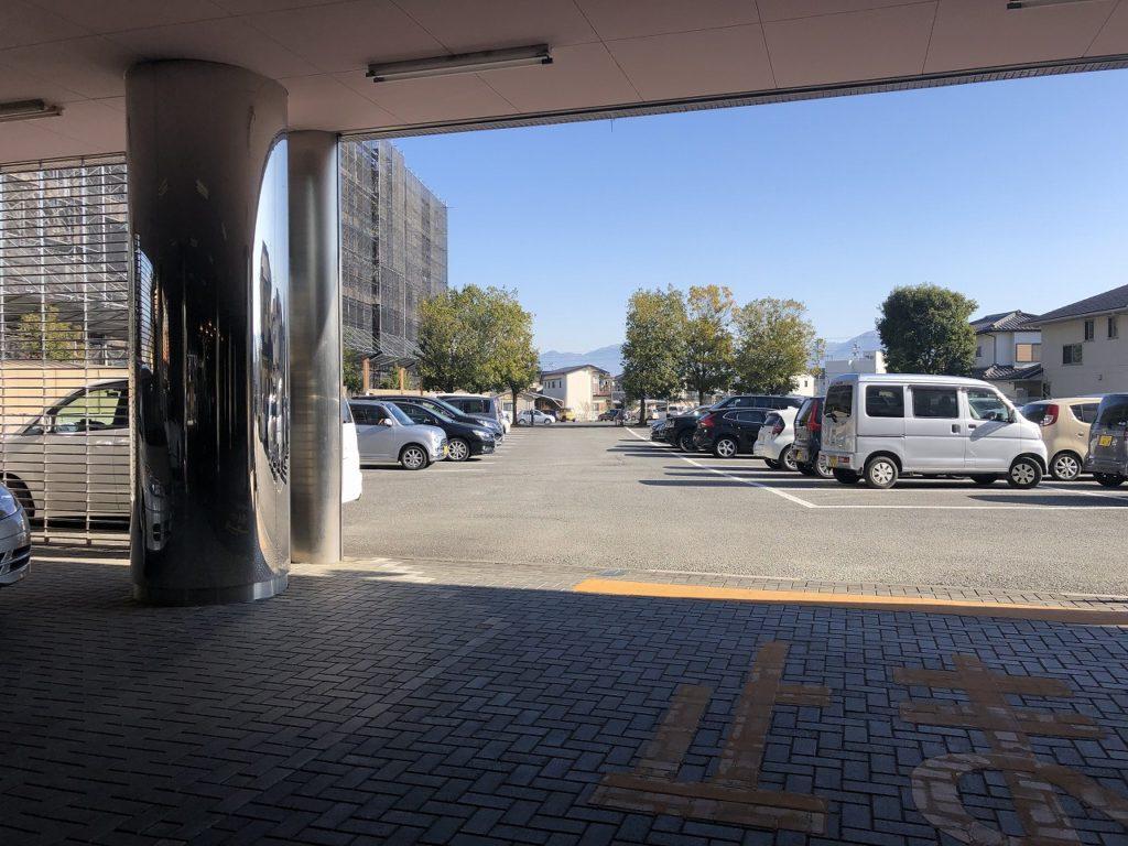 エリア1は駐車禁止です