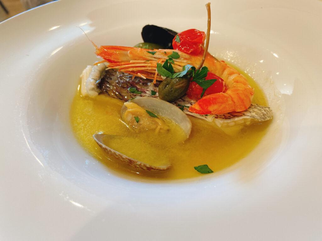 チリンドロ 真鯛のアクアパッツァ