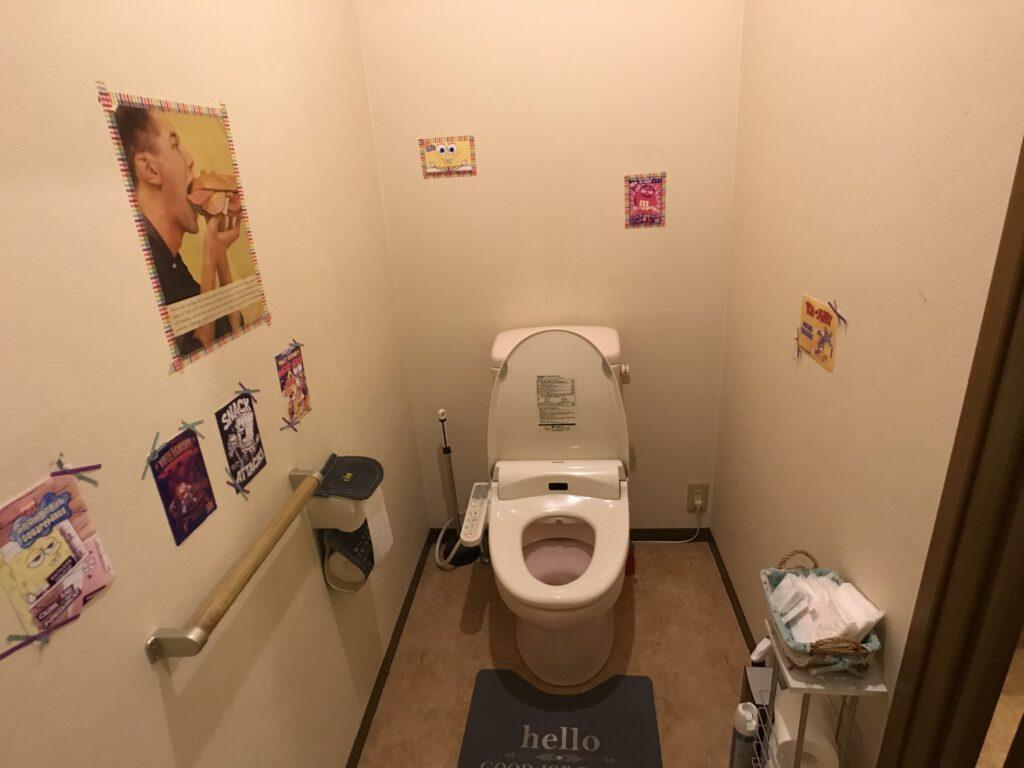オールドハンガー トイレ