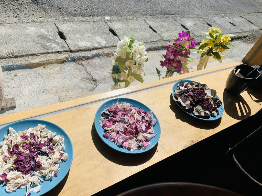 店内 お花