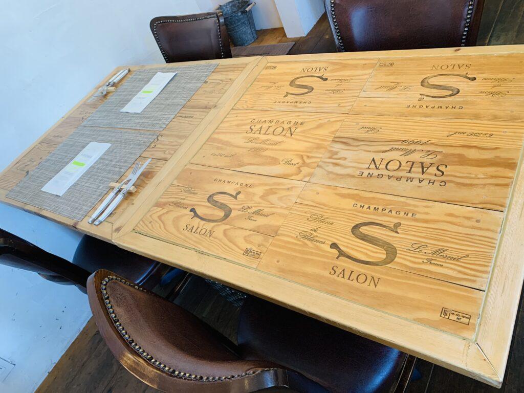 l'arca テーブル